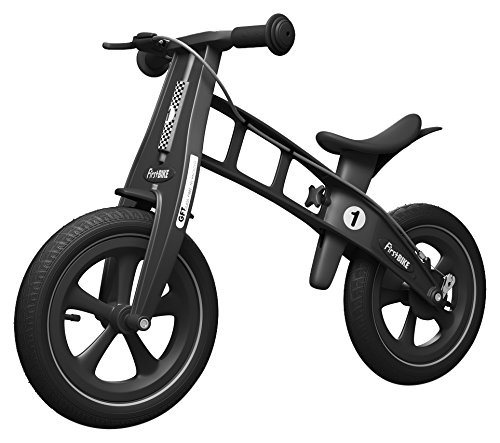 FirstBIKE First Bike Limited Edition with Brake, Black