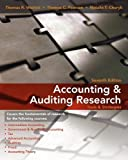 img - for Accounting & Auditing Research: Tools & Strategies by Thomas R. Weirich (2009-11-24) book / textbook / text book