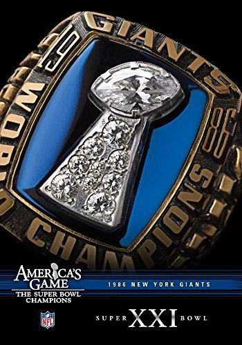 NFL America's Game: 1986 GIANTS (Super Bowl XXI) by Vivendi (Bowl Super Xxi)