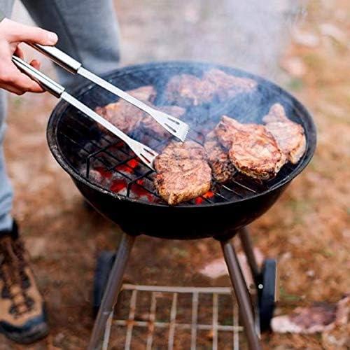 Ear Pad Lot d'accessoires de barbecue en acier inoxydable pour le camping Idéal comme cadeau d'anniversaire pour papa (5 pièces)