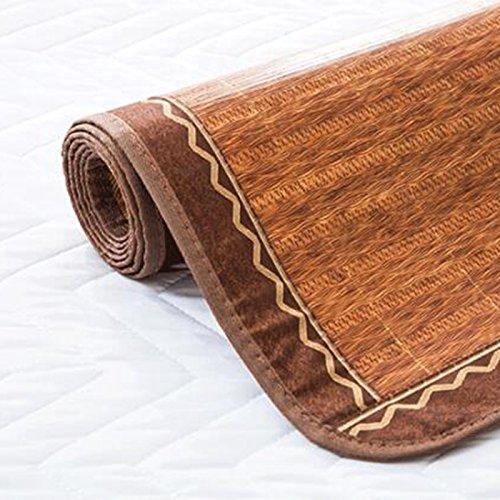 Zzaini Double Sided Summer Sleeping Mat, Folding Topper Pad Rattan Topper Pad-B 180x200cm(71x79inch) by Zzaini (Image #5)