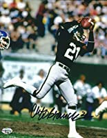 Autographed Cliff Branch Oakland Raiders 8X10 Photo