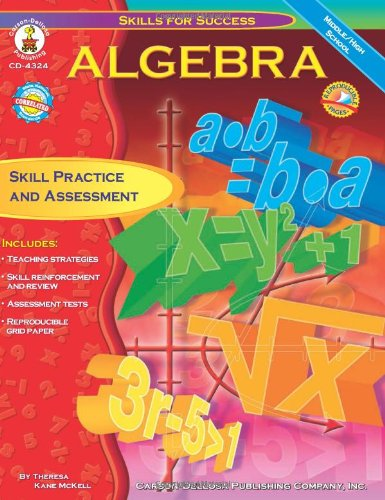 Algebra: Skill Practice and Assessment for Middle/High School (Skills for Success (Math Algebra 1)