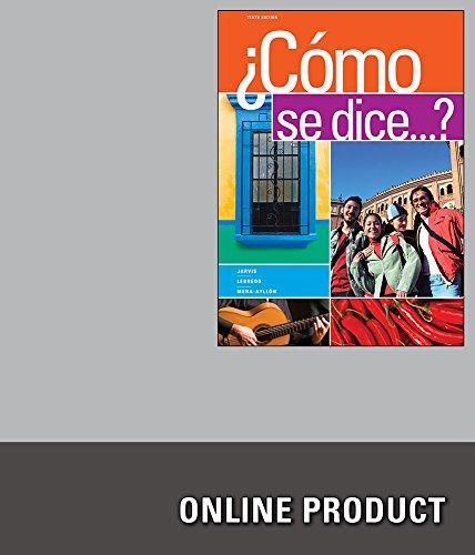 Premium Web Site for Jarvis/Lebredo/Mena-Ayllón's Cómo se dice...?, 10th - 10 8 Os Mac Lion Mountain X