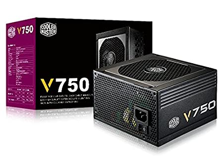 Cooler Master G750M Alimentation PC 'Modulaire, 80 Plus Bronze, 750W' RS750-AMAAB1-UK 750W' RS750-AMAAB1-UK FBA_RS750-AMAAB1-UK Alimentation pour PC