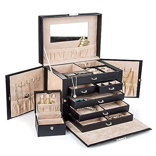 Jewellery Box with Lock Amazoncom