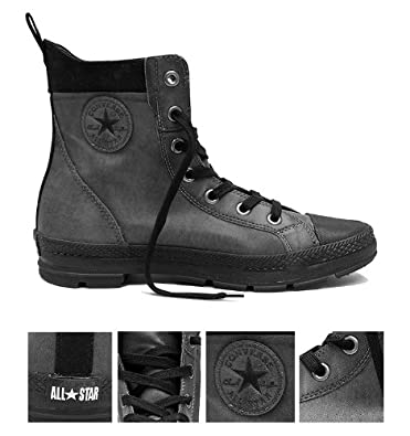 0a23cd125ae6 Converse All Star  Sargent  Hi Boots (UK-8.5)  Amazon.co.uk  Shoes ...