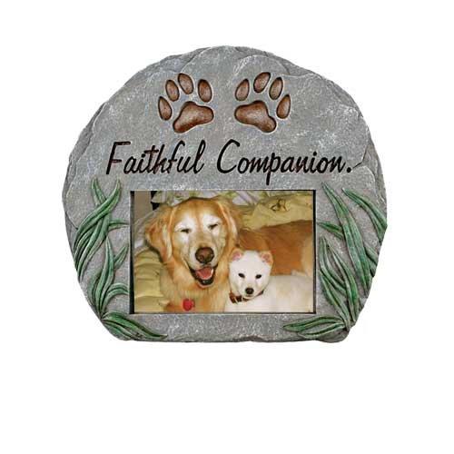 Red Carpet Studios Photo Frame Memorial Stone, Faithful Companion ()