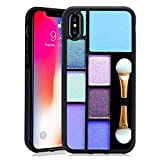 Eyeshadow Palettes Apple iPhone X (2017)/iPhone 10 (2017)/iPhone Xs (2018) [5.8 Inch] Cell Phone Case
