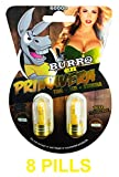 New Burro Power 60000 (8 Pills) All Natural Male