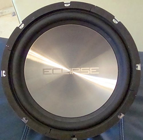 Eclipse SW6123.4 12-Inch 200 Watt RMS 4 Ohm Subwoofer 400W Max
