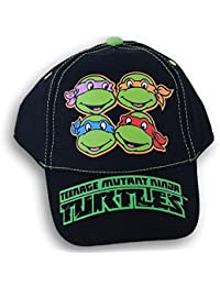 Teenage Mutant Ninja Turtles Black Baseball Cap Hat