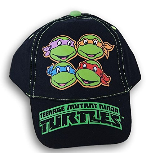 ABG Accessories Teenage Mutant Ninja Turtles Black Baseball Cap Hat