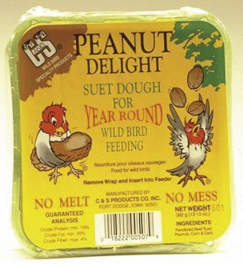 C&S Peanut Delight No-Melt Suet Dough