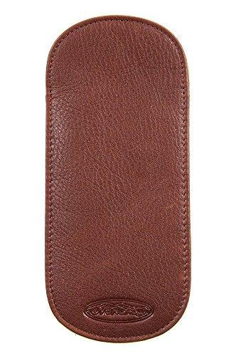 Leather Glasses Case, BRANDY, Size 1 - Case Brandy