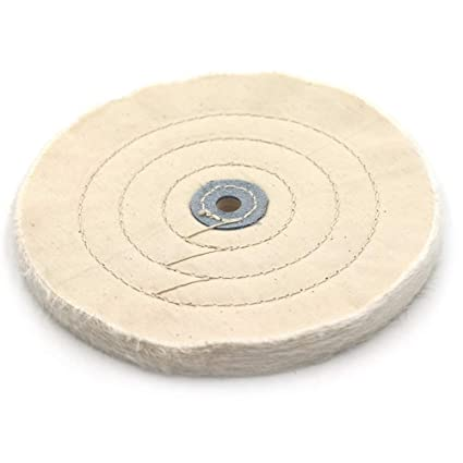 Excellent Amazon Com 8 Inch Cloth Buffing Polishing Wheel With 2 5 Onthecornerstone Fun Painted Chair Ideas Images Onthecornerstoneorg