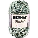 Bernat 16111010001 Blanket Yarn, 10.5 Ounce, Silver Steel, Single Ball