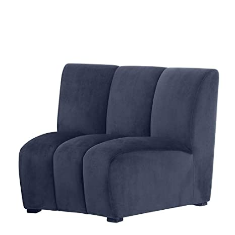 Awesome Amazon Com Curved Modular Sofa Eichholtz Lando Navy Onthecornerstone Fun Painted Chair Ideas Images Onthecornerstoneorg