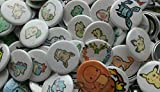 Pokemon Collectible 1'' inch Buttons - Lot of 250 Random - Custom Made - Pin Back - Gift Party Favor -