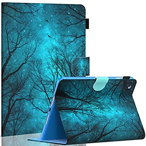 Dteck iPad mini 1/2/3 Case - Folio Slim Fit Stand Case with Smart Cover Auto Sleep / Wake Feature for Apple iPad Mini 1/ iPad Mini 2 / iPad Mini 3, Forest (Ipad 3 Soft Gel Case)
