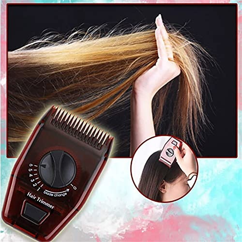 Manual Hair Trimmer Multi-functional Hairdressing Comb Multifunctional Manual Hair Trimme Razor Adjustable For Travel Home