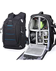 $99 » SEASKY Warrior FPV Backpack for DJI FPV Combo Drone Racing Quadcopter Shoulder Bag Outdoor Portable for Carry Remote Controller Video Goggles Lipo Batteries with Waterproof Rain Cover