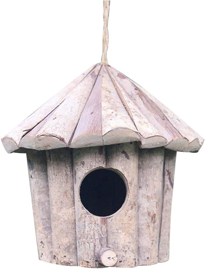 10 solid hardwood birdhouses  choice of size  crafts wood