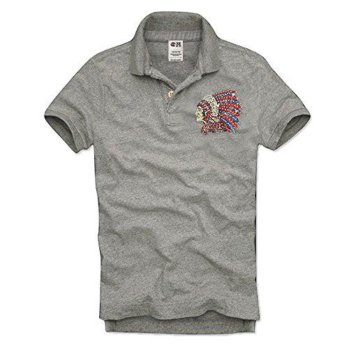 事実エイズアコード(カリホリ) Cali Holi ポロシャツ メンズ 半袖 大きいサイズ ゴルフ