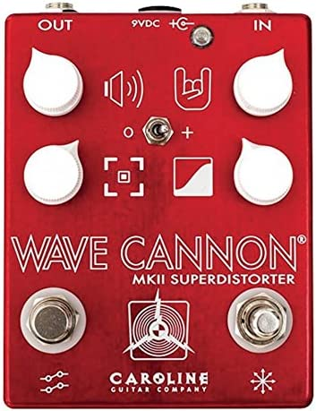 Pedal Overdrive Carolina Guitar Company – Wave Cannon MKII: Amazon ...