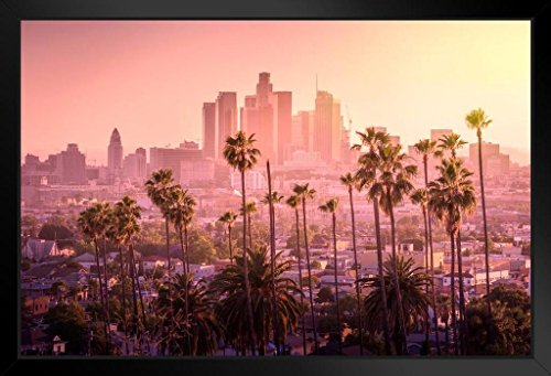 Poster Foundry Los Angeles Skyline 20x14 inch