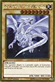 Yu-Gi-Oh! - Blue-Eyes White Dragon (MVP1-ENG55) - The Dark Side of Dimensions Movie Pack Gold Edition - 1st Edition - Gold Rare