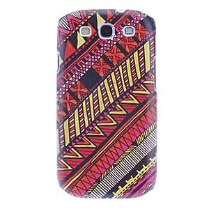 GONGXI Twill Pattern Hard Case for Samsung Galaxy S3 I9300