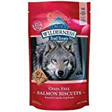 Blue Buffalo Wilderness Trail Treats Grain-Free Salmon Biscuits 10 Oz(2Pack)