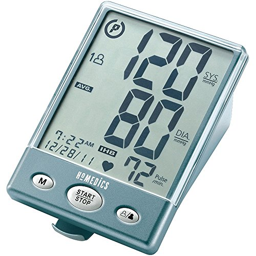 031262037879 - HoMedics BPA-201 Automatic Arm Blood Pressure Monitor with Supersize Digits, Smart Measure Technology, Two Arm Cuffs and Irregular Heartbeat Detector carousel main 0