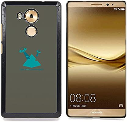 For Huawei Mate 8 - Blue Pyramid /Modelo de la piel protectora de ...