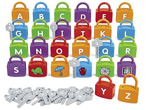 Lakeshore Alphabet Learning Locks
