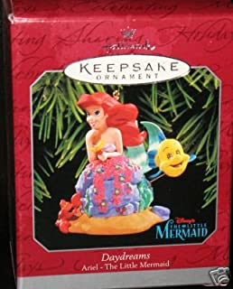 1998 daydreams ariel from disney the little mermaid hallmark ornament - Little Mermaid Christmas Ornaments