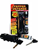 Pepper Defense PDVP-1 Value 2-Pack Police Grade 10% OC Pepper Spray - Emergency Non Lethal Weapon for Personal Protection and Safety - 4 Year Shelf Life Guarantee