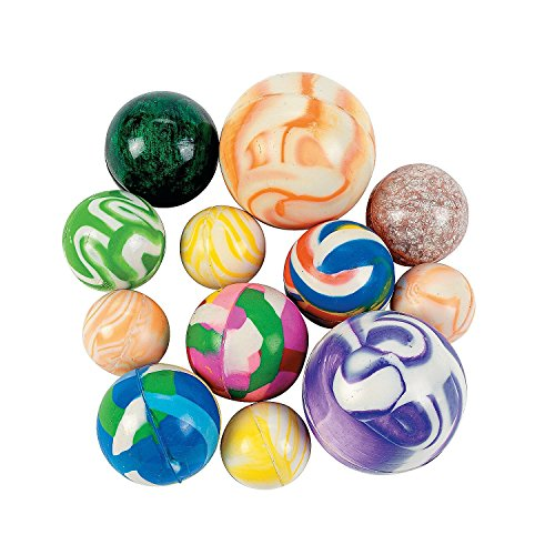 Fun Express Bouncing Ball Assortment - 25 Pieces]()