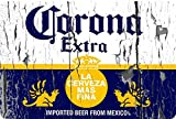 Corona Extra beer label vintage look Reproduction Metal Sign 8 x 12 made in the USA