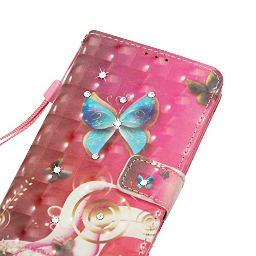 avec Couverture 7 Portefeuille Stand Plus iPhone Etui Housse Coque Protection iPhone PU Swag Etui Leather Protector Coque et Cover Coquille Fonction pour Case de Wallet Cuir Flip Sunburst Butterfly Fent Plus HUT COZY 8 qwtqWFpn