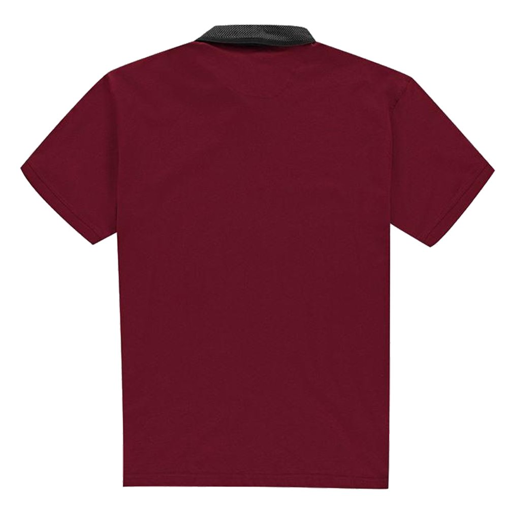 Pierre Cardin Hombre XL Camisa Polo Burgundy XL Largo: Amazon.es ...