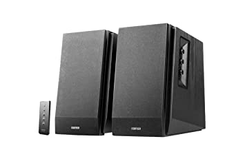 4d12e1b72a93a8 Edifier R1700BT Bookshelf Active Speakers with Bluetooth, RCA/AUX Input, EQ  Control and