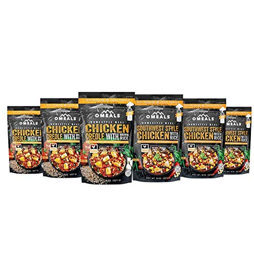 OMEALS Chicken Meal, 6 pack, 7.5 inches x 2 inches x 10.75 inches, OMECP-6 by OMEALS