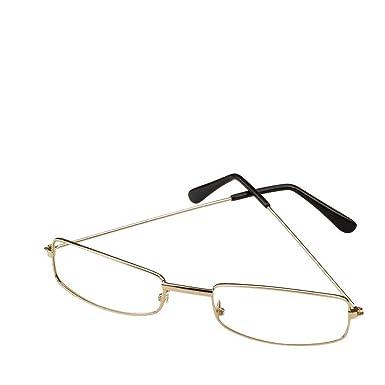 rectangular wire rim glasses costume accessory - Wire Framed Glasses