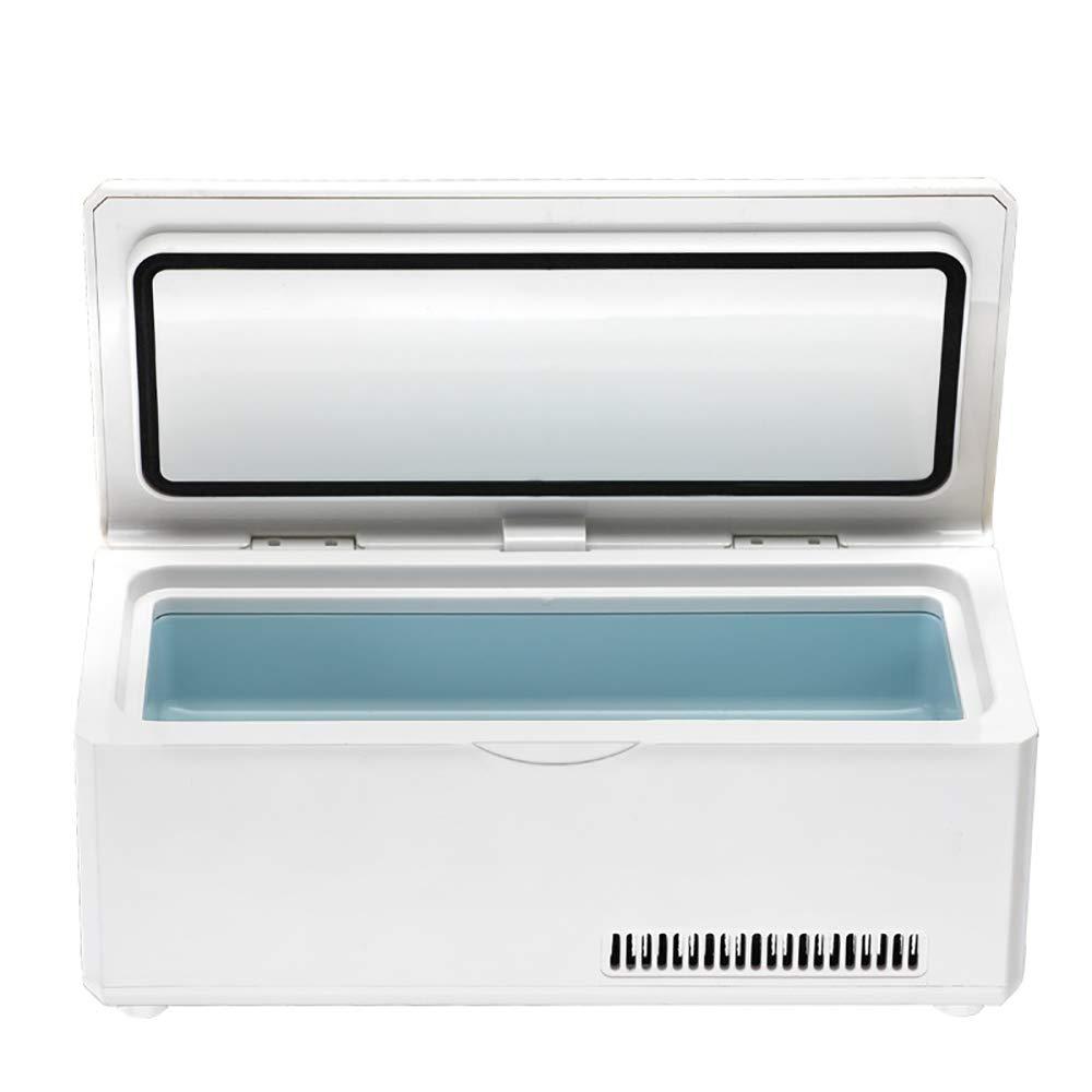 Refrigerador de insulina Coche de Viaje m/édico Refrigerador Refrigerador de insulina Estuche de Viaje Mini Medicina dom/éstica Termostato Refrigerador