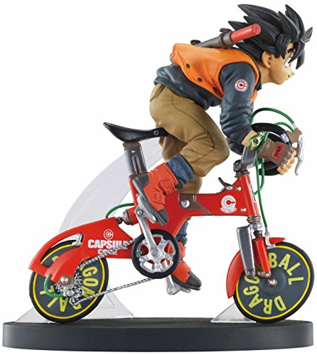 MegaHouse - Figurine Dragon Ball Z - Real Mccoy Son Goku Bike 15cm - 4535123818523