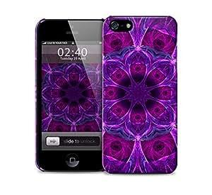 purple kaleidoscope pattern iPhone 5 / 5S protective case