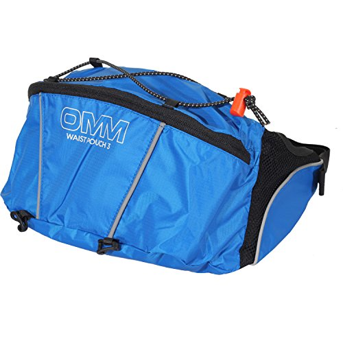 OMM Waist Pouch Bum Bag One Size Blue 15 by OMM