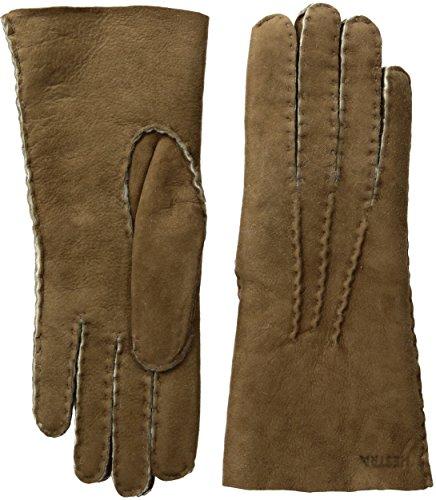 Hestra Women's Sheepskin Leather Dress Glove,Beige,8 by Hestra